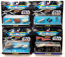 Vintage Star Wars Micro Machines 3 Ship Carded Sets- 14 in Series- Youe Choice