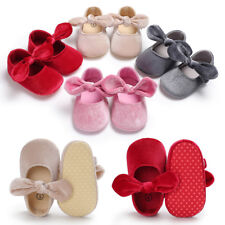 New Infant Baby Princess Shoes Toddler Girls Walking Shoes Soft Sole Crib Shoes