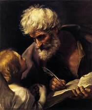 Photo Print St Matthew and the Angel Reni, Guido - in various sizes jwg-14478