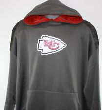 NEW Mens NFL Majestic Therma Base Kansas City Chiefs Armor II Pullover Hoodie