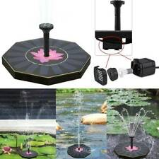 Octagonal-shaped Solar Floating Fountain Water Pump For Garden Pool Plants