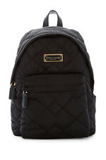 $198 MARC JACOBS QUILTED NYLON BACKPACK  BLACK