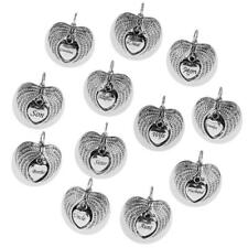 Charms Angel Wings Pendant Memorial Ashes Urn Cremation Dad Mom Angel Keepsake
