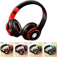 Foldable Wireless Headphones Bluetooth 4.0 Headset Noise Cancelling Over Ear TF