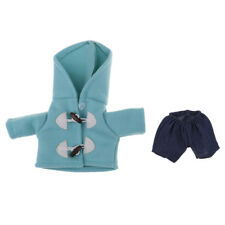 Adorable Doll Hooded Clothes Suit For 25cm Mellchan Dolls Christmas Gifts
