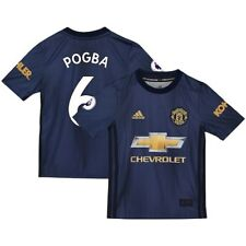 adidas Paul Pogba Manchester United Youth Navy 2018/19 Third Replica Player