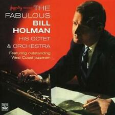 Bill Holman : His Octet and Orchestra [spanish Import] CD (2006)