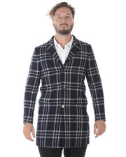 Paolo Pecora Jacket Coat F/W Wool MADE IN ITALY Man Blue P17IC1M0N0323116 150