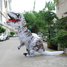 Inflatable T-rex Dinosaur Costume Cosplay Dress  for Kid/Adult  Halloween