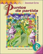 Puntos De Partida (English and Spanish Edition)  Hardcover