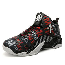 Big Kids Men's High Top Basketball Shoes Sport Breathable Athletic Sneakers New