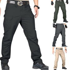 Tactical Work Cargo Pants Men Combat Quick Dry Light Weight Cargo Hiking Outdoor