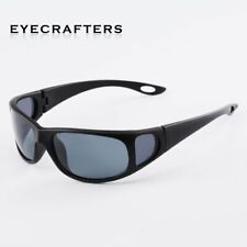 Mens Sunglasses Polarized Cycling Glasses Side Shield UV400 Goggles Eyewear New