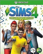 Sims 4: Deluxe Party Edition Brand New Sealed (Microsoft Xbox One, 2017)