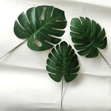 48PCS Artificial Tropical Palm Leaves Table Leave Decorations Home Jungle Large