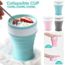 Portable Silicone Telescopic Drinking Collapsible  Folding Cups for Travelling