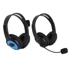 Computer Stereo Gaming Headphones Over-Ear Earphones Headset w/Mic for PS4