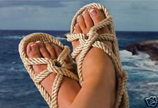 Gurkee Rope Sandals GURKEES BARBADOS Beach Style