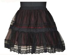 Gothic Prom Skirt Victorian PLUS SIZE Customised 1495