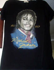 WOMEN KING OF POP MICHAEL JACKSON FITTED JUNIOR T-SHIRTS