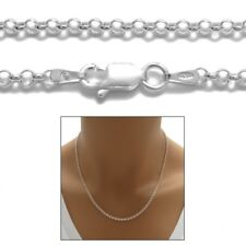 Sterling Silver ROLO chain necklace 2mm 040 gauge