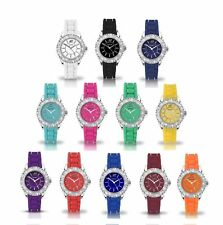 Sekonda Ladies Summer Time Party Time Silicone Strap Watches Colourful