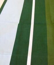200TC PERCALE KING Waterbed sheets - GREEN STRIPE