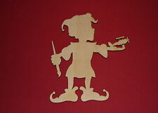 PAINTER ELVES Unfinished Wood Shapes Cut Outs PE1083