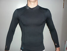 PRECISION TRAINING BASE LAYER LONG SLEEVE TURTLE NECK MENS BLACK: BEST PRICE