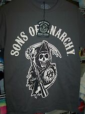 SONS OF ANARCHY REAPER GRAY T-SHIRT NEW !