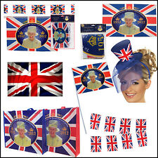 Union Jack Great Britian Bunting Flags Pary Supplies Queen Street Party