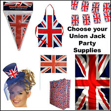 Union Jack Flags Bunting London UK Olympics Gifts Royals STREET PARTY SUPPLIES