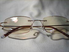 Almost Invisible - FRAMELESS COMPUTER READING GLASSES + FREE EYEGLASS CASE 1098c