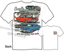 67 68 69 70 Chevelle Shirt, Muscle Car Shirts, SS Chevy Tee, Sz M L XL 2XL 3XL
