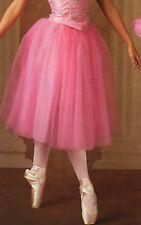 NEW Romantic Tutu Rose child/Adult Tulle Chiffon 4 Layer Ballet Pinks