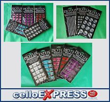 Stick on Jewels / Gems - Sheet of Self-Adhesive Stickers - Cards or Crafting