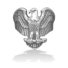 Large Oxidized Eagle Ring 925 Sterling Silver Patriotic American Nice Classic