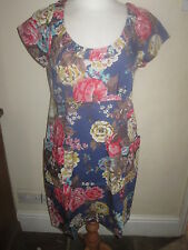 JOULES Macee Floral Dress Sz 12 FreeUKP&P RRP£54.95