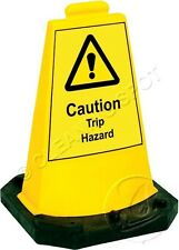 Hazard Mini Cone - sturdy, stackable, stand alone signs cleaning, trip hazard