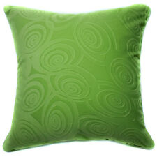 Ub06a Lime Polka Circle Embossed Style Cushion Cover/Pillow Case *Custom Size*