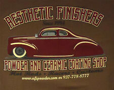 Aesthetic Finishers 1940 Ford Custom Slammed Hot Rod T-Shirt
