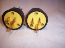 Electrical plugs Male 15 amp 125V 3 Prong Extension Cord ends wholesale NEW