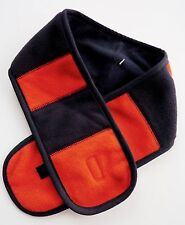 Baby GAP Boys Fleece NAVY BLUE ORANGE Double Layer Warm Mini Neck Scarf Up To 5y