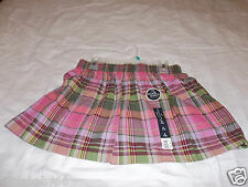 NEW With Tags Girl's Pink Plaid Skorts Great For All Year for Girl's!!!!!!