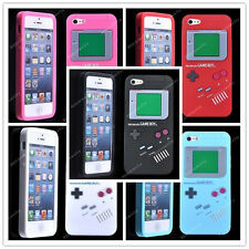 1For iPhone 5 5G 6 colors fashion Gameboy Game Boy Silicone Gel Cover Case Skin