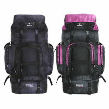 Extra Large 120 L Travel Hiking Camping Festival Luggage Rucksack Backpack Bag