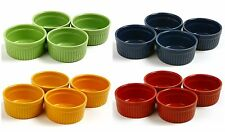 Norpro 4oz Ramekins Stoneware~4 Colors To Pick From