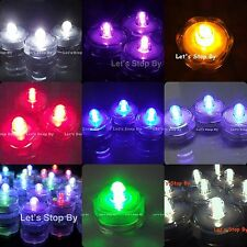24 LED Submersible Waterproof Wedding Floral Decoration Tea Vase Battery light