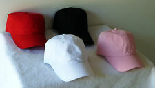 New, blank, plain, cheap, unstructured, top quality baseball caps/hats