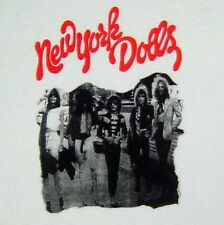 New York Dolls band retro t-shirt sz S,M,L,XL,2XL vintage-style concert IN STOCK
